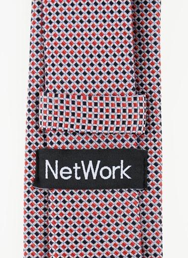 Network Kravat Kırmızı